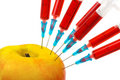Free Apple And Syringes Royalty Free Stock Photo - 8984495