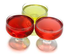 Free Red And Yellow Jelly Royalty Free Stock Photography - 8980057