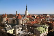 Free Tallinn S Red Rooves Royalty Free Stock Photo - 8981405