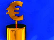 Free Euro Sign Stock Image - 8981681