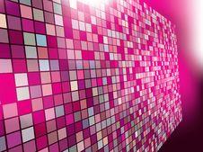 Mosaic Color Illustration Design Royalty Free Stock Photos