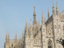 Free Detail Of Milan Cathedral Royalty Free Stock Images - 8982429
