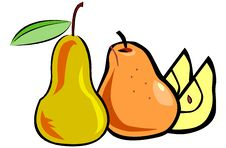 Free Still Life On A Composition Of Fruit Royalty Free Stock Photos - 8982678