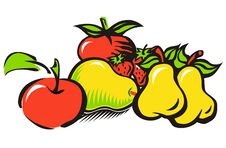 Composition Of Fruit Royalty Free Stock Images