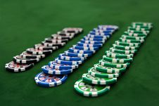 Free Poker Table Royalty Free Stock Images - 8982989