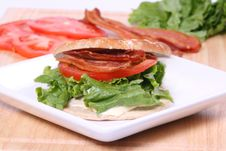 Free BLT Royalty Free Stock Photography - 8983477
