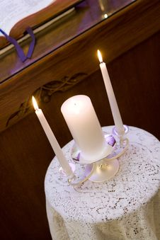 Free Unity Candles Royalty Free Stock Images - 8984039