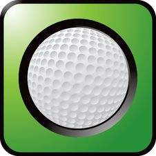 Free Golf Ball Close Up Royalty Free Stock Photos - 8984388