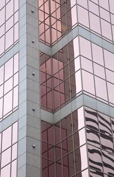 Free Urban Window Reflections Royalty Free Stock Photography - 8984627