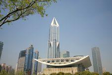 Free Shanghai Modern Buildings Royalty Free Stock Image - 8984696
