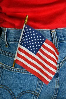 Free Patriotic Pocket Stock Photo - 8984950