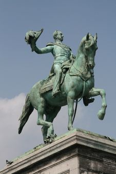 Free Guillaume II Statue Royalty Free Stock Photos - 8985778