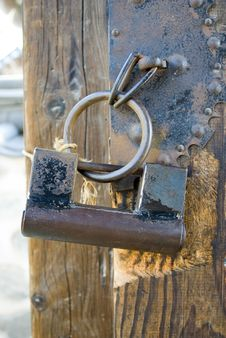 Free The Old-fashioned Lock In China Royalty Free Stock Photo - 8985875