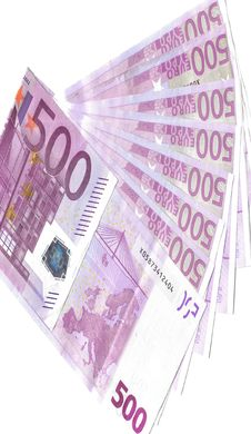 Free Five Hundred Euro Notes Stock Images - 8986364