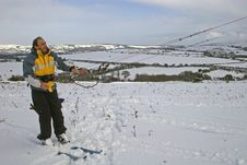 Free Kite Skiing Royalty Free Stock Image - 8986596