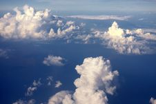 The Origin Of Clouds Stock Photography