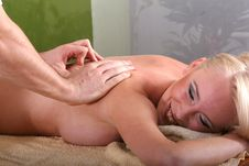 Free Massage Therapy Royalty Free Stock Photos - 8987188