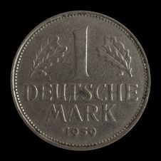 Free One Deutsche Mark Stock Photography - 8987232