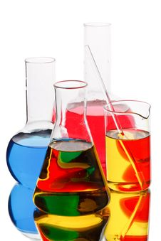 Free Various Colorful Flasks Stock Photo - 8988600