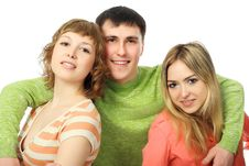 Free Close Friends Royalty Free Stock Image - 8988756