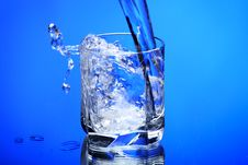 Free Frozen Water Royalty Free Stock Images - 8988969