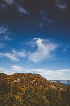 Free Mountain And Blue Skies Stock Image - 89806711