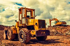 Free Construction Equipment, Bulldozer, Vehicle, Mode Of Transport Stock Images - 89871634