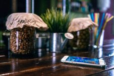 Free Smartphone Tabletop Royalty Free Stock Image - 89891456