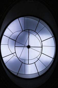 Free Skylight On Black Ceiling Stock Photo - 89892670
