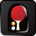 Free Ping Pong Paddle Web Button Stock Photo - 8993760