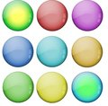 Free Colored Glass Buttons Royalty Free Stock Image - 8996366