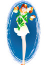 Free Girl - Graduate Stock Image - 8996871