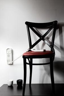 Free Chair Beside Interphone Stock Photo - 8990210