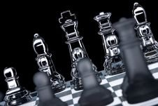 Free Transparent Chess Board Black Background Stock Images - 8990294