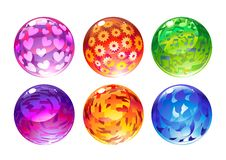 Balls Set Stock Image