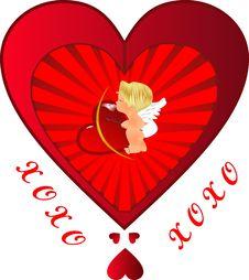 Free Cupid Lovers Stock Image - 8992601