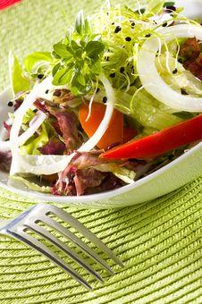 Free Fresh Green Salad Stock Photo - 8993160