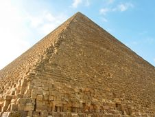 Free Northern Side Of The Great Pyramid Royalty Free Stock Photos - 8993568