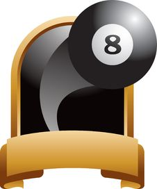 Eight Ball Plague Royalty Free Stock Photo