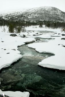 Free Mountain River Stock Photography - 8995162
