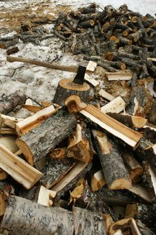 Free Chopping Wood Royalty Free Stock Photography - 8995187