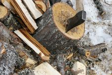 Free Chopping Wood Stock Photography - 8995232