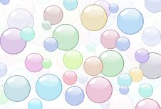 Free Bubbles Royalty Free Stock Photography - 8995767