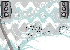 Free Music Background Royalty Free Stock Photo - 8995825