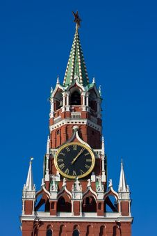 Free Spasskaya Tower Royalty Free Stock Images - 8996149