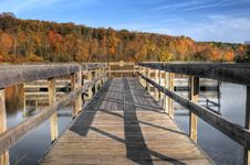 Free Autumn Dock Royalty Free Stock Photo - 8996175