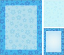 Free Blue Spring Flower Background Stock Photos - 8996453