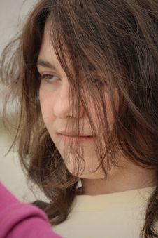 Free Teen Girl   Disgusted Mad Royalty Free Stock Images - 8996969