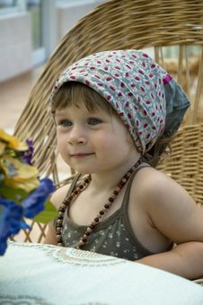 Free Portrait Of A Little Girl Stock Photo - 8997080