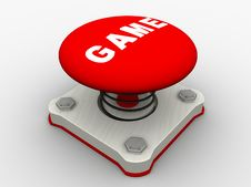 Free Red Start Button Stock Photography - 8997312